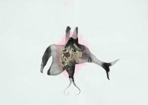 Bpeinture 51x70- the fish