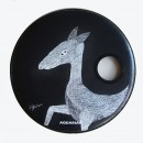 resonant bass drum head )Animal