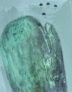 La baleine du fond de l'océan