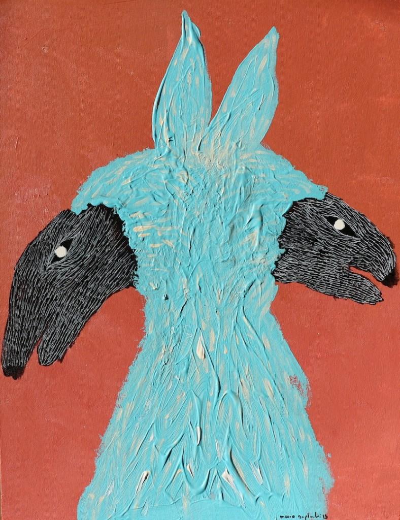 Lama à deux têtes