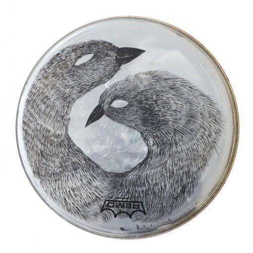 L'oiseau à deux têtes