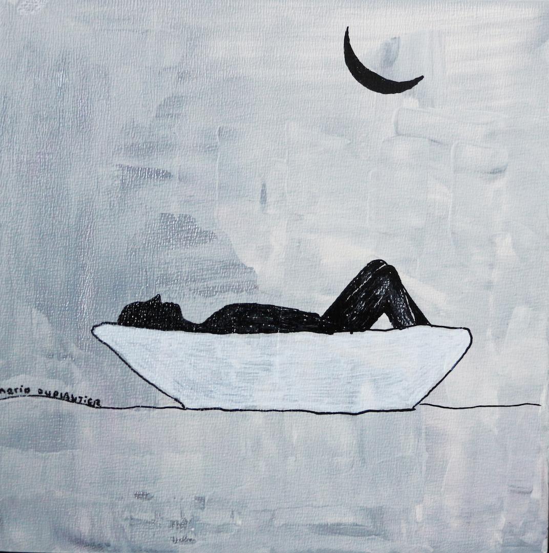 Meditation sous la lune
