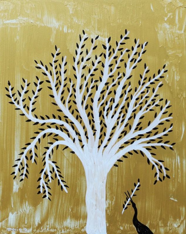 L arbre et l'oiseau d Almograve
