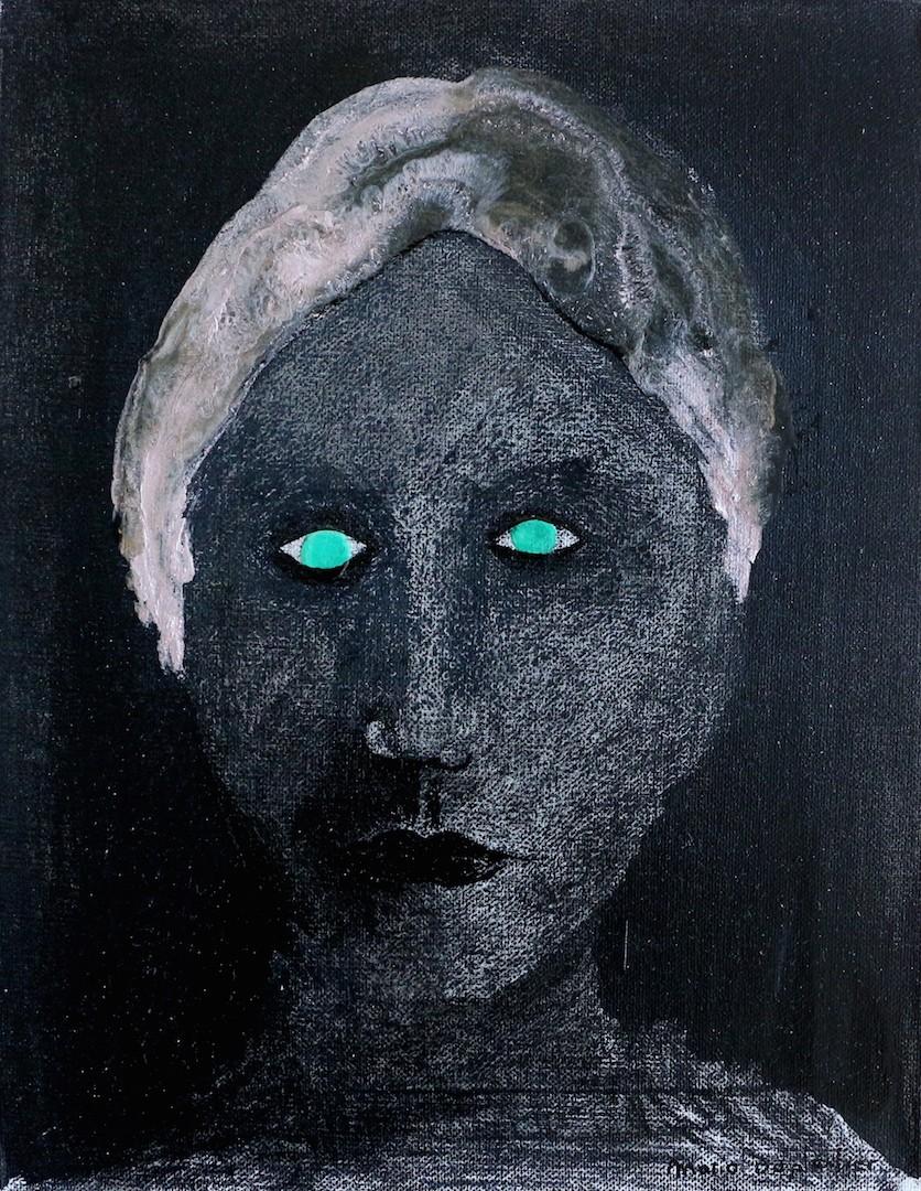 La femme aux yeux verts