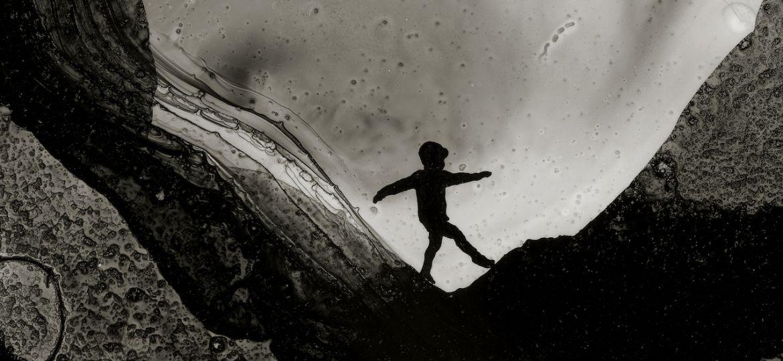 Print L'enfant et la montagne